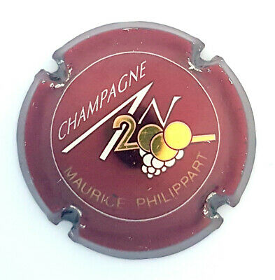 CAPSULE CHAMPAGNE AN 2000 Maurice PHILIPPART Perso Sur 615 écriture Or • 12€