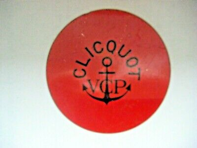 Capsule CLICQUOT - FLAN - Ancre Large - Rouge - N° 93 - • 9€