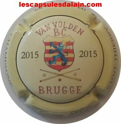 BELLE CAPSULE CHAMPAGNE THIERRY HOTTE BRUGGE 2015 REF N°28c NEWS • 8€