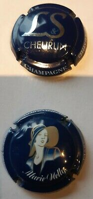 LOT 2 Capsules Champagne CHEURLIN + HENNEQUIERE • 2.50€