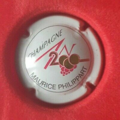 Capsule Champagne An 2000 Maurice PHILIPPART Blanc • 1€